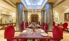 The Royal Horseguards - The Royal Horseguards Hotel: Three-Course Meal with Prosecco for two or four at One Twenty One Two at Royal Horseguards Hotel (Up to 48% Off)