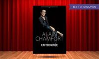 1 place en carré or ou catégorie 1 pour le concert dAlain Chamfort le 09 mars 2017 à 20h30 dès 20 € au Casino Barrière
