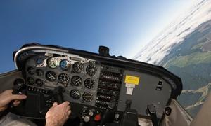 -Ostseeflugschule-: 25 oder 40 Minuten das Ultraleichtflugzeug Eurostar SL selbst fliegen in der Ostseeflugschule (bis zu 60% sparen*)