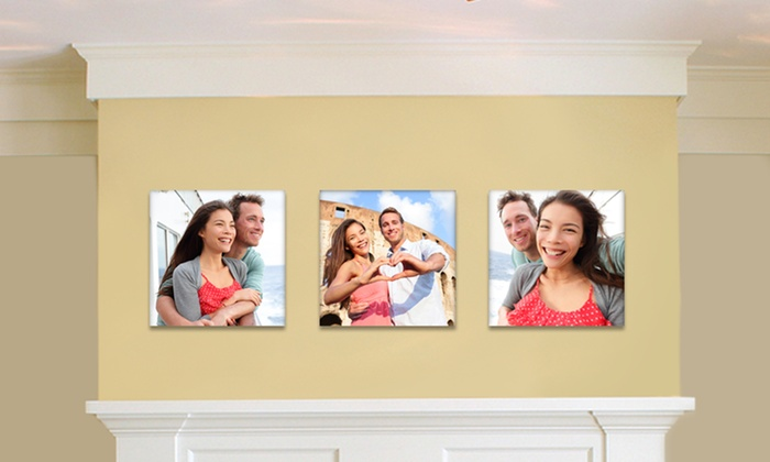 Custom Square Canvas Prints Picture It On Canvas Groupon