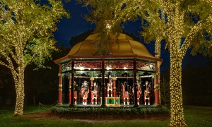 Up to 50% Off Admission to 12 Days of Christmas Exhibit at 12 Days of Christmas Outdoor Exhibit at Dallas Arboretum, plus 6.0% Cash Back from Ebates.