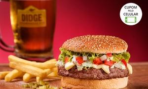 Didge Steakhouse Pub – Joinville: Crédito de R$ 30, R$ 60 ou R$ 120 no Didge Steakhouse Pub – Centro