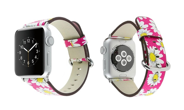 $16 for a PU Leather Band for Apple Watch