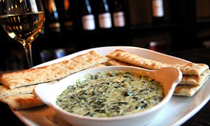 The Wine Bar - Downtown Long Beach: $18 for Wine Flights and Appetizers for Two at The Wine Bar in Long Beach (Up to $38 Value)