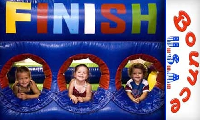Bounce USA - Knoxville: $5 for One Child's Admission Plus Snack Pack at Bounce USA ($10 Value)