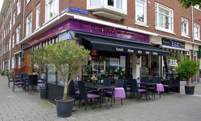 Bistro bos tot 56 amsterdam noord holland groupon for Turks restaurant amsterdam