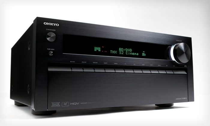 Onkyo TX-NR818 7.2-Channel 3D Home-Theater Receiver: $749.99 for an Onkyo TX-NR818 7.2-Channel 3D Home-Theater Receiver ($1,199.99 List Price). Free Shipping and Returns.