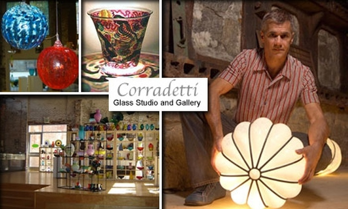 Corradetti Glass Studio and Gallery - Woodberry: $20 for $40 Toward a Glass-Blowing Class or Products at Corradetti Glass Studio and Gallery