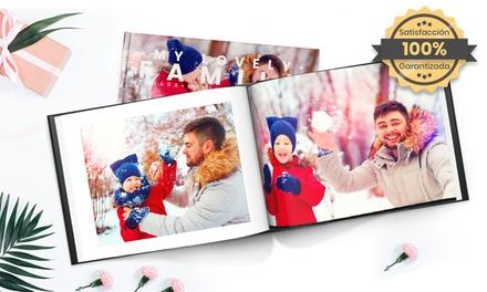 Hasta 5 fotolibros tapa dura fotográfica A4 de 100 pág. Especial Navidad con Printerpix (hasta 95% de descuento)