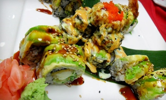 Tao Sushi & Grill, Japanese Steakhouse - Orchard Park: $15 for $30 Worth of Sushi and Hibachi Fare at Tao Sushi & Grill, Japanese Steakhouse in Orchard Park