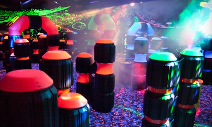 United Skates of America - Wickliffe: Laser Tag, Roller Skating for Two or Four, or Party Package at United Skates of America in Wickliffe (Up to 77% Off)