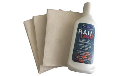 250 ml Aqua Clean Regen- und Schmutzabweiser Rain Devil für Pkw und Haushalt inkl. 3 Reinigungstüchern (Koln)