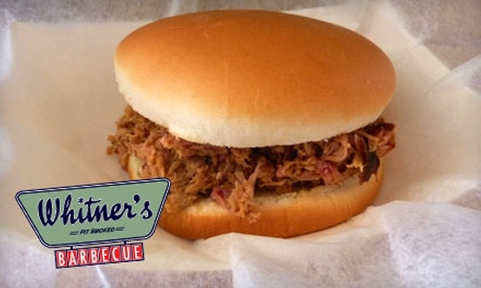 Whitner's Real Pit Barbecue - Virginia Beach: $7 for $14 Worth of Barbecue Fare at Whitner's Real Pit Barbecue in Virginia Beach