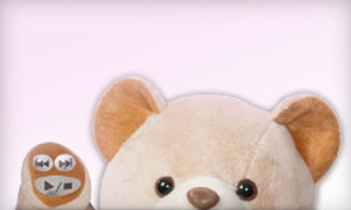 Cuddletunes: $30 for a Personalized Singing and Storytelling Teddy Bear from Cuddletunes ($60 Value)