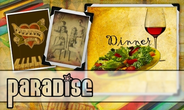 Paradise Piano Bar & Restaurant - Downtown Long Beach: $25 for $50 Worth of Seasonal Fare and Specialty Drinks at Paradise Piano Bar & Restaurant in Long Beach