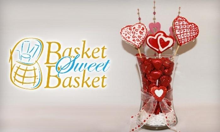 Basket Sweet Basket: $17 for a Valentine's Day Basket ($35 Value) or $20 for $40 Towards Any Gift Basket at Basket Sweet Basket