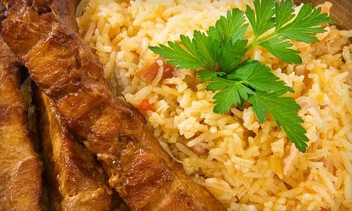 Caspian Bistro - Block's Plaza: $15 for $30 Worth of Mediterranean Dinner Fare at Caspian Bistro in Overland Park (or $10 for $20 Worth of Mediterranean Lunch Fare)