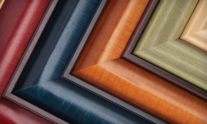 Frame Up - Northbridge Terrace: $50 for $100 Toward Custom Framing and In-Store Artwork at Frame Up