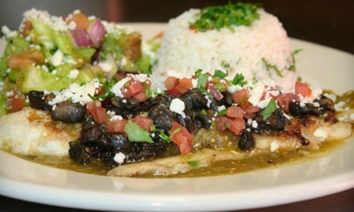 Sazón - Zilker: Authentic Mexican Fare for Dinner or Lunch at Sazón (Up to 53% Off)