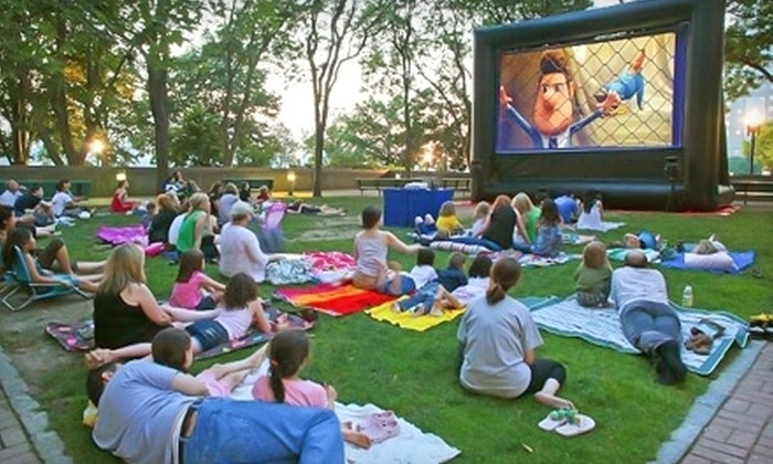 FunFlicks Outdoor Movies - Southern Georgia: $149 for an Outdoor Movie Party Rental from FunFlicks Outdoor Movies ($299 Value)