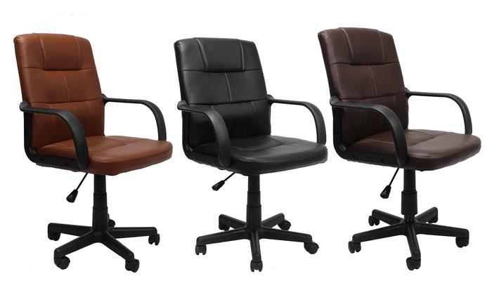 Chaise De Bureau BasiqueGroupon BasiqueGroupon Bureau Chaise De Chaise De wOk80nPNX
