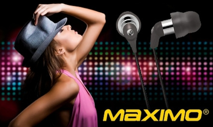 Maximo Products: $15 for $50 Worth of iMetal Earphones & Headsets at Maximo Products