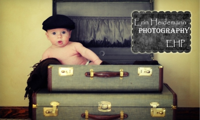 Erin Heidemann Photography - Mount Greenwood: $110 for an On-Site Photo Shoot and a Picture CD with 15 Edited Images from Erin Heidemann Photography ($250 Value)