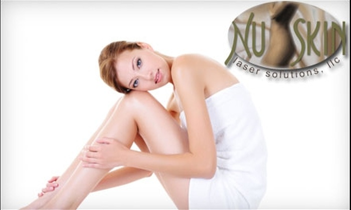 Nu-Skin Laser Solutions - North Jersey: $95 for Three Laser Hair-Removal Treatments at Nu-Skin Laser Solutions in Suffern, NY