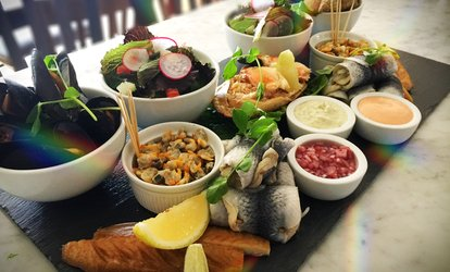 Cold Fish Platter Lunch for Two, Four, Six or Ten at Chapman's Seafood Bar and Brasserie (Up to 57% Off)
