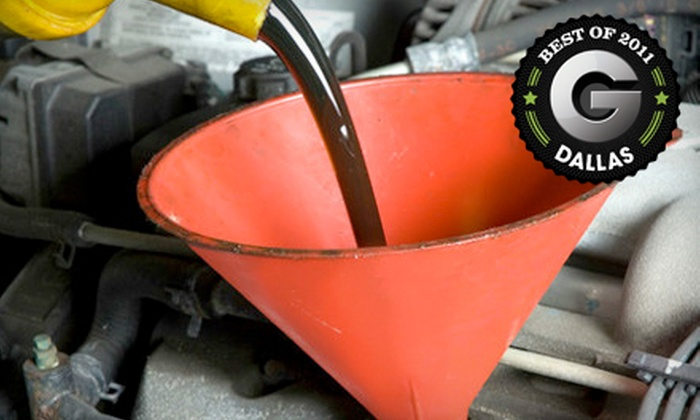 Kwik Kar Lube & Tune - Dallas: One, Two, or Three Full-Service Oil Changes at Kwik Kar Lube & Tune (Up to 60% Off)