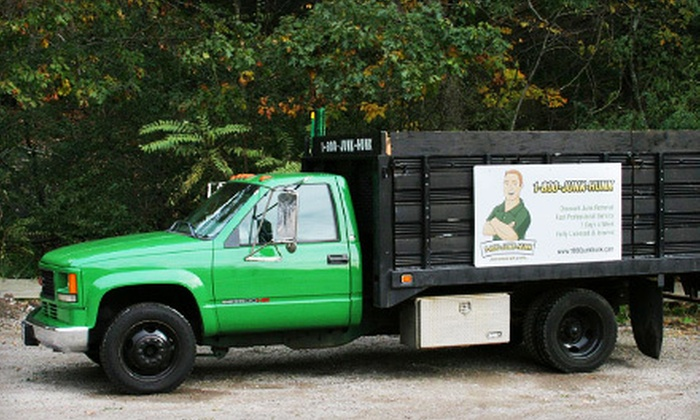 1-800-Junk-Hunk - Milton: $69 for 1/4 Truckload of Junk Removal from 1-800-Junk-Hunk ($180 Value)