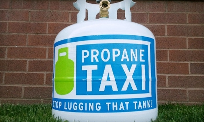 Propane Taxi: $9 for Propane-Tank Exchange from Propane Taxi ($18.49 Value)