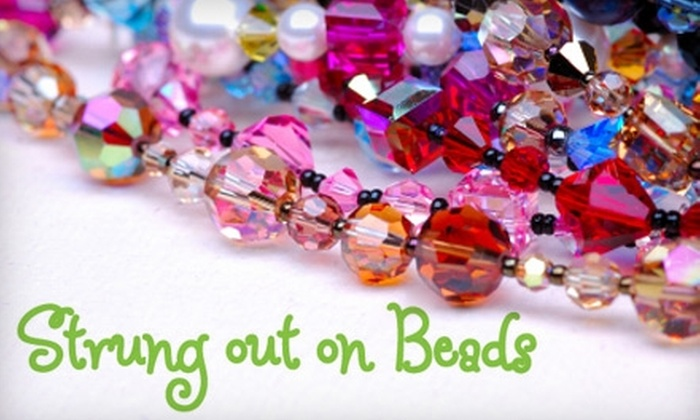 Strung out on Beads - Downtown Fayetteville: $10 for a Two-Hour Stringing 101 Bead Class at Strung out on Beads ($25 Value)