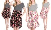 Garden Escape Dress with Pockets. Plus Sizes Available.