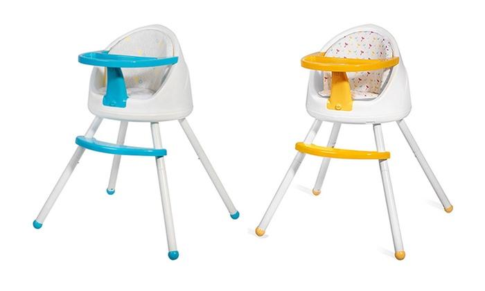 Chaise haute 3 en 1 kinderkraft groupon for Chaise kinderkraft