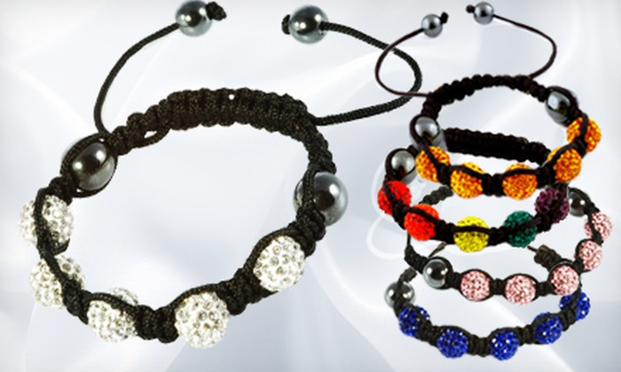 Austrian Crystal Tranquility Bracelets: One or Three Austrian Crystal Tranquility Bracelets (Up to 71% Off). Multiple Colors Available.