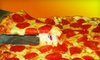 Primo Pizza - Wallingford Center: $8 for a Large Six-Topping Pizza at Primo Pizza in Wallingford (Up to $19.99 Value)