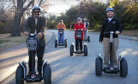 Guided Segway Tour through Fort Worth Botanic Garden for 1 Person (a $65 value) - Segway Experience Center Fort Worth in Fort Worth