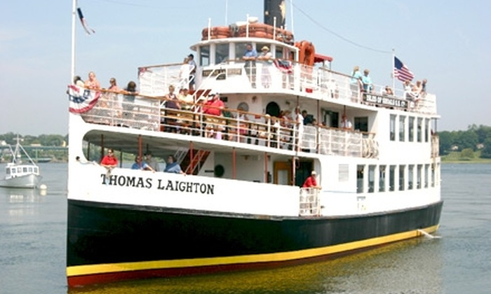 Isles of Shoals Steamship Company - Portsmouth: $15 for a Historic Isles of Shoals and Portsmouth Harbor Boat Tour from Isles of Shoals Steamship Company (Up to $28 Value)