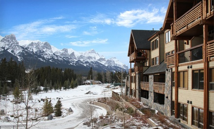 Three-Night Stay for Four Adults in a Two-Bedroom Condo, Valid Until June 21.  - Rundle Cliffs Luxury Mountain Lodge in Canmore