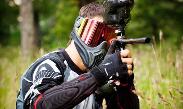 Blackwater Paintball - Pavo: All-Day Paintball Outing with Equipment Rental and Paintballs for Two or Four at Blackwater Paintball in Pavo