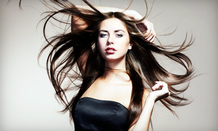 Pink Lime Salon & Spa - Downtown: $19 for a Shampoo and Blow Out at Pink Lime Salon & Spa (Up to $50 Value)
