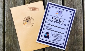 Spy Mission for Up to Three Kids