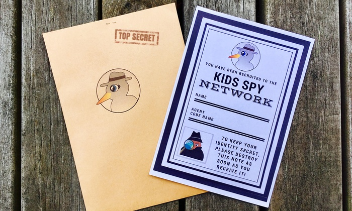 3-Volumes of Red Raven: 1 ($29), 2 ($49) or 10 children ($129) from Kids Spy Network Incl. Delivery (Up to $400 Value)