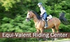 OOB: Equi-Valent Riding Center - Liberty: $30 for One-Hour Private Riding Lesson from Equi-Valent Riding Center ($62 Value)