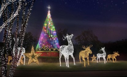 image for $25 for One Car-Load for Magical Nights of Lights 25th Anniversary at Lanier Islands ($45 Value)