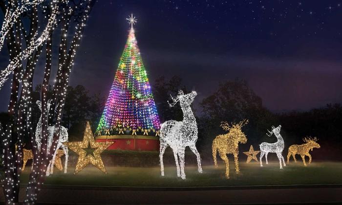 Magical Nights of Lights at LanierWorld - Buford: $25 for One Car-Load for Magical Nights of Lights 25th Anniversary at Lanier Islands ($45 Value)