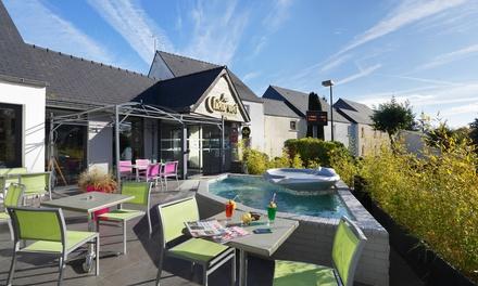 St Brieuc : chambre double Elégance avec petit déjeuner et dîner en option à lhôtel Inter Hôtel Au Chêne Vert pour 2