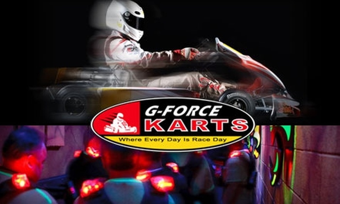 G-Force Karts - Fairfield: $20 for Three Races and a One-Year Membership at G-Force Karts ($50 Value) or $11 for Four Games of Laser Tag ($26 Value)