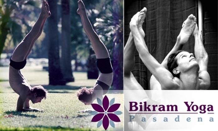 Bikram Yoga Pasadena - South East: $40 for 10 Classes at Bikram Yoga Pasadena ($125 Value)